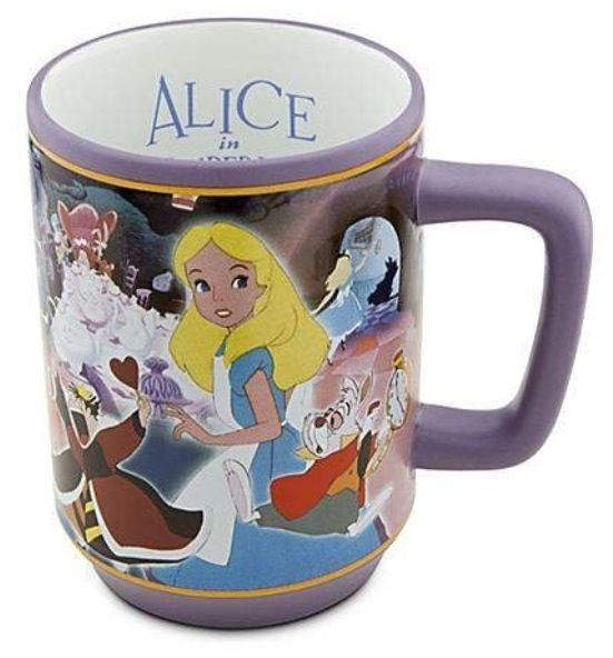 Alice In Wonderland Stacked Coffee Mug