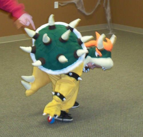 Bowser Halloween Costume - CRAFTSTER CRAFT CHALLENGES