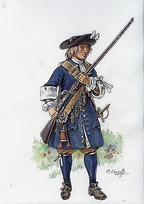 Fantassin suédois fin17ème siècle