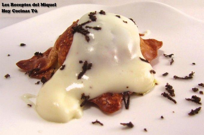 Hoy Cocinas Tú: Ravioli crujiente de carne con bechamel trufada