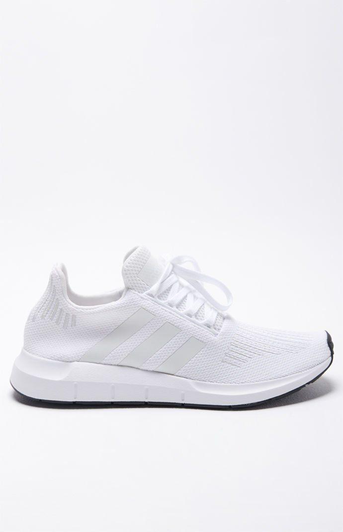 abc20c8f9 adidas Swift Run White Shoes