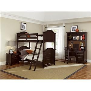 Hamilton/Franklin Bunk Bed By Vaughan Bassett   Miller Brothers Furniture    Bunk Bed West