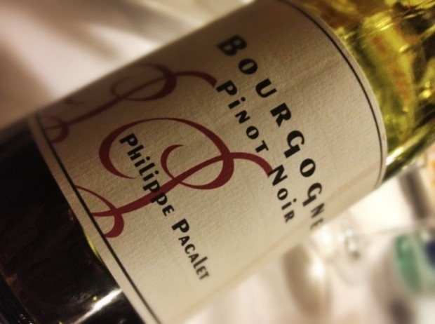 Philippe Pacalet #Bourgogne Pinot Noir 2009 ed energia cinetica