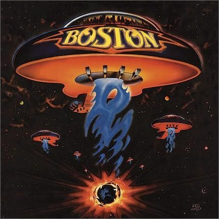 Boston debut album, 1976