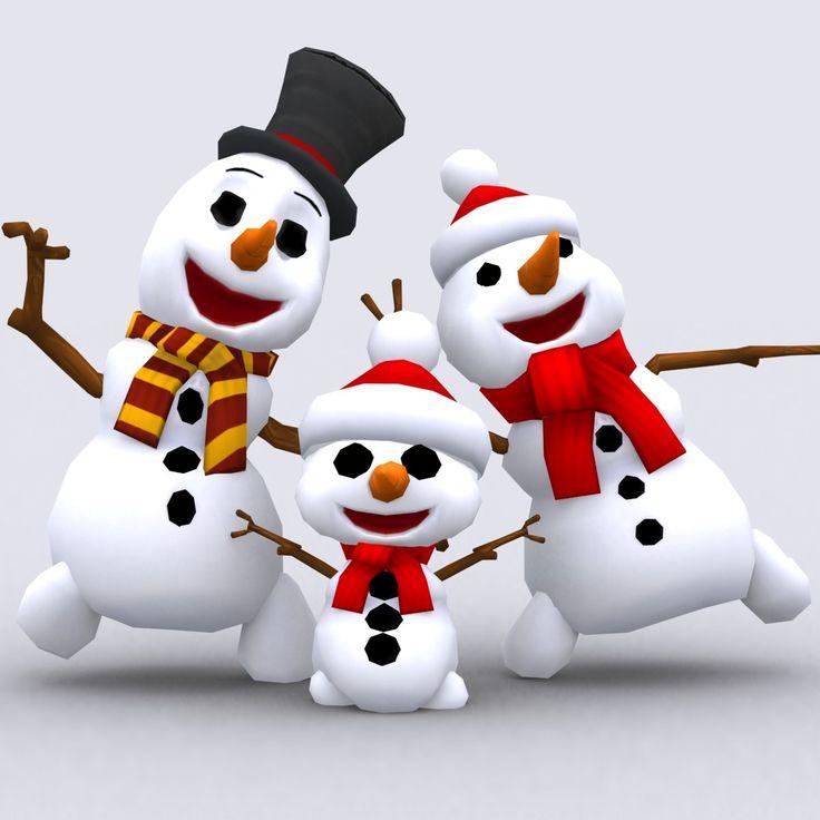 танцующий снеговик картинки как