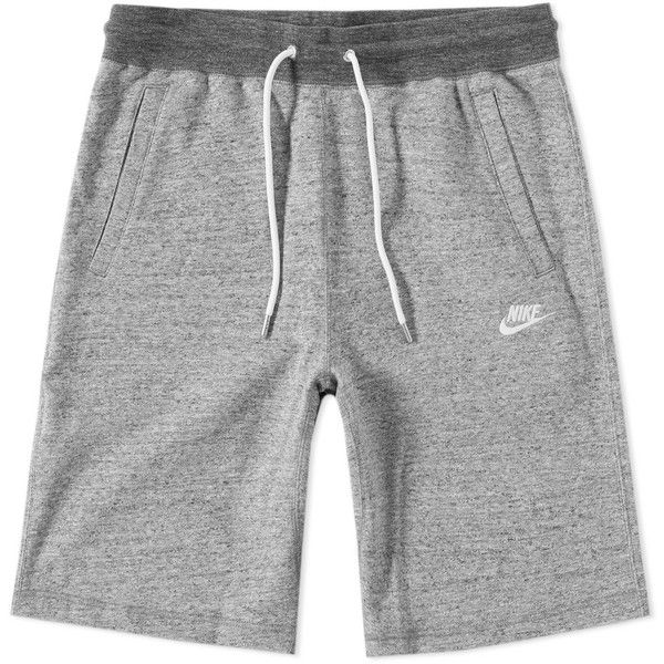 Nike Legacy Short ($60) ❤ liked on Polyvore featuring men's fashion, men's clothing, men's activewear, men's activewear shorts and nike