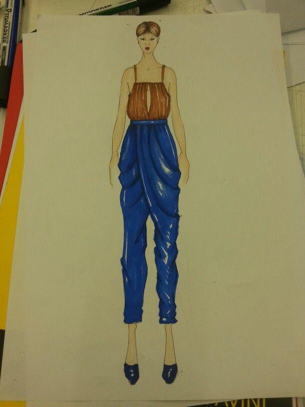 fashion sketch timm