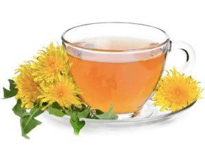 herbatka z mniszka lekarskiego