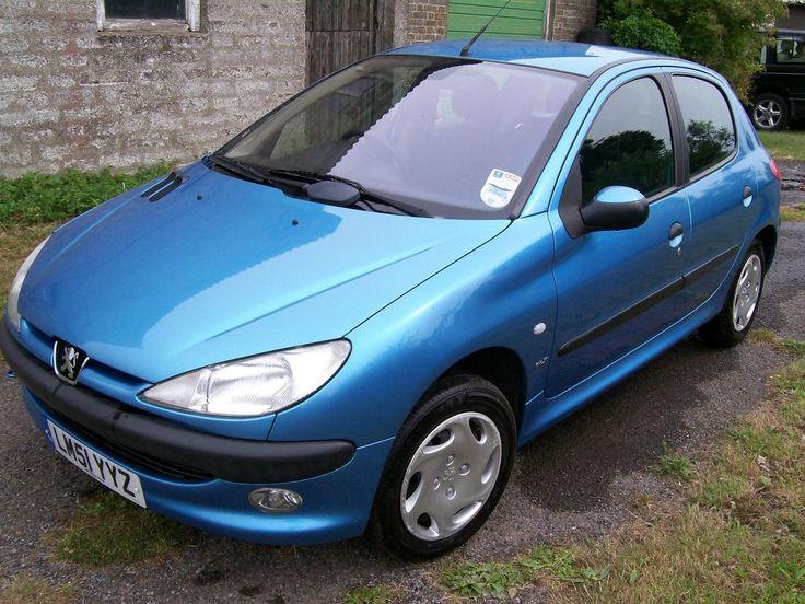 2001 PEUGEOT 206 GLX BLUE