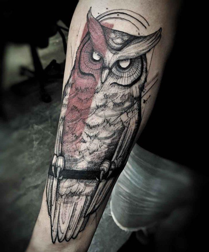 38 Tolle Eulen Tattoo Designs aller Zeiten