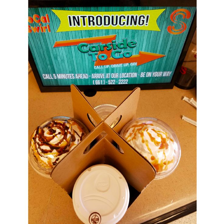 It's that time of the year, the kids are back in school and your day is extremely busy. Let us help you out with our new Carside to Go service. Enjoy your favorite SoCal Swirl items without leaving your car! Call us for more information! (661) 522-2222 #carsidetogo #deliver #drivethru  #coffee #iceblended #lancastercalifornia #palmdale #lancaster #california #antelopevalley