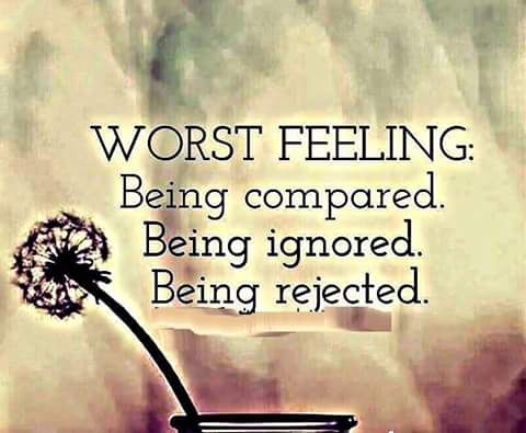 Image result for feeling rejected
