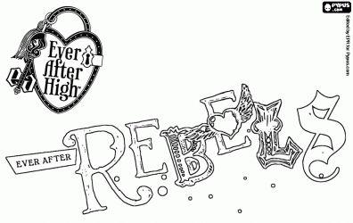 ever+after+high+room   ... de Logo de Rebels, os rebeldes da escola Ever After High para colorir