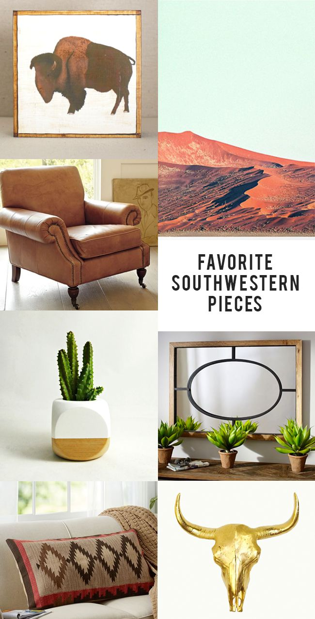 trend we love modern southwestern - Southwestern Decor