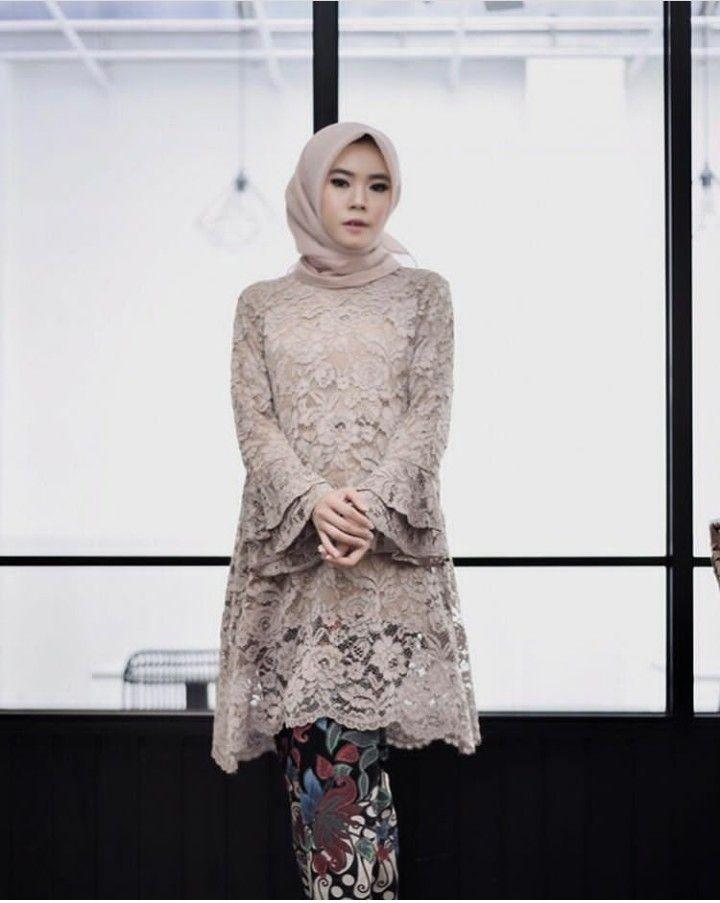 Model Kebaya Hijab Modern Terbaru Rok Batik Panjang Model