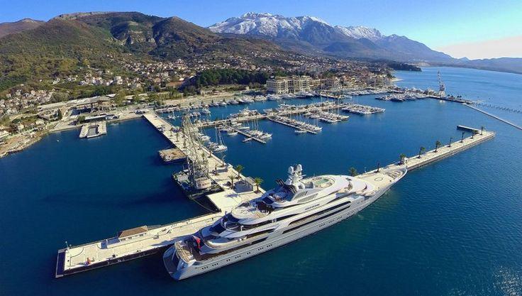 Montenegro's Tivat Luxury Marina has the biggest Superyacht Berth