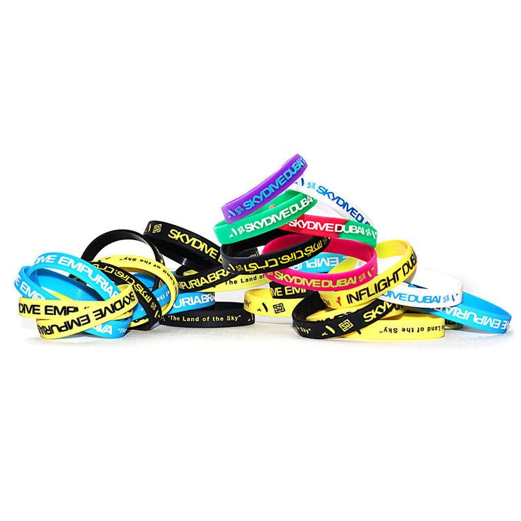 Manufactory Silicone Wristbands