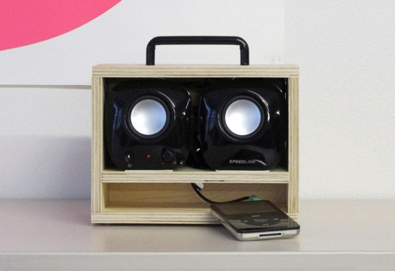 BOOM IPOD BOX BY KONSTANTIN GRCIC