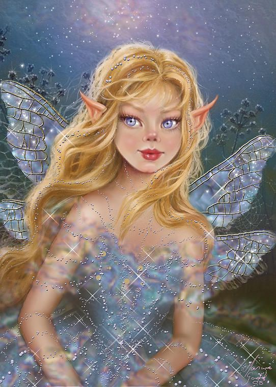 Fairy Artwork Maxine Gadd is a published fairy artist