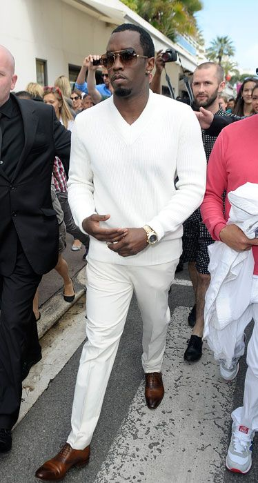 Best Dressed Men Cannes 2012 - P. Diddy - Esquire