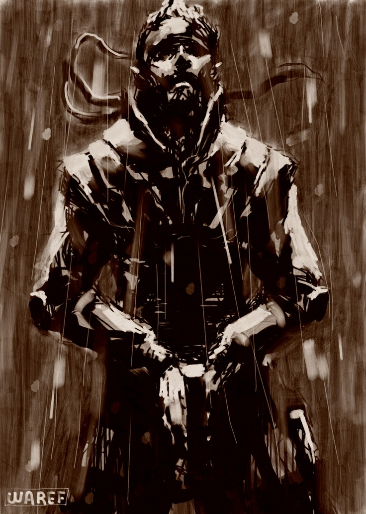 I've discovered WAREF ABU QUBa Artwork in the Metal Gear Art Studio. Have a look or choose your own free canvas.
