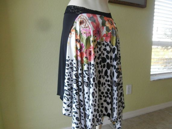 Argentinian Tango & Salsa  Skirt  US 6 to 10  by COCOsDANCEWEAR