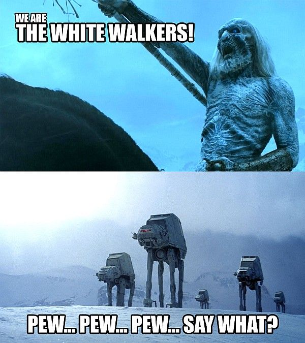LOL: Star Wars vs. Game of Thrones [Pics]