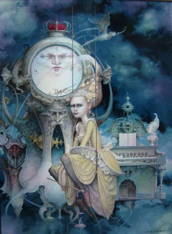 """Daniel Merriam's Solo Show of New Paintings, """"Now You See Me: The Art of Escapism"""" 