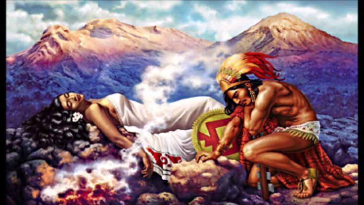 LEYENDAS: Popocatépetl e Iztaccíhuatl (un amor para siempre)