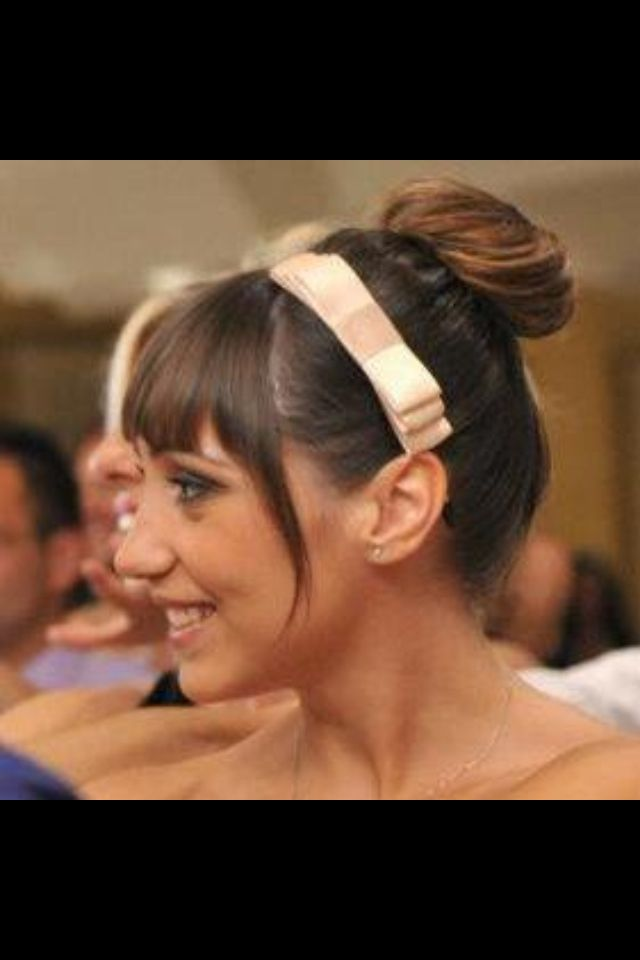 Chignon + cerchietto