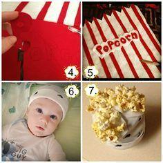 We're all Muggles: Popcorn Baby Costume - DIY
