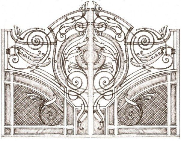 574 best images about forged gates on pinterest entry - Puertas hierro forjado ...