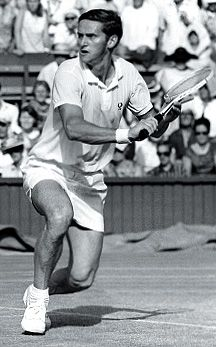 Roy Stanley Emerson (born 1936) is an Australian former World No. 1 amateur tennis player who won 12 Grand Slam tournament singles titles & 16 Grand Slam tournament men's doubles titles. He is the only male player to have completed a Career Grand Slam in both singles & doubles. His 28 Major titles are an all-time record for a male player, although most of his titles were won in the final years of the period where Major tournaments were open only to amateur players.