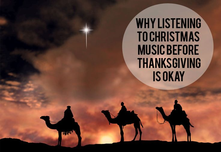 Why it's okay to listen to Christmas music before Thanksgiving