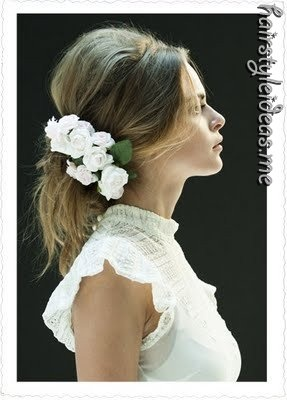 hairstyle: Weddinghair, Hairstyles, Wedding Hair, Wedding Ideas, Weddings, Makeup, Hair Style, Beauty, Flower