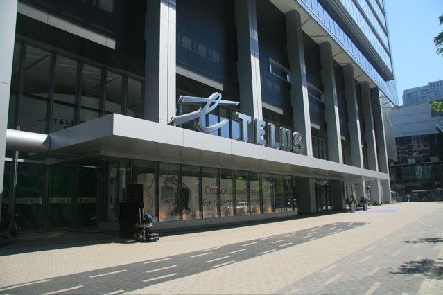 25 York Street Telus Front Entrance