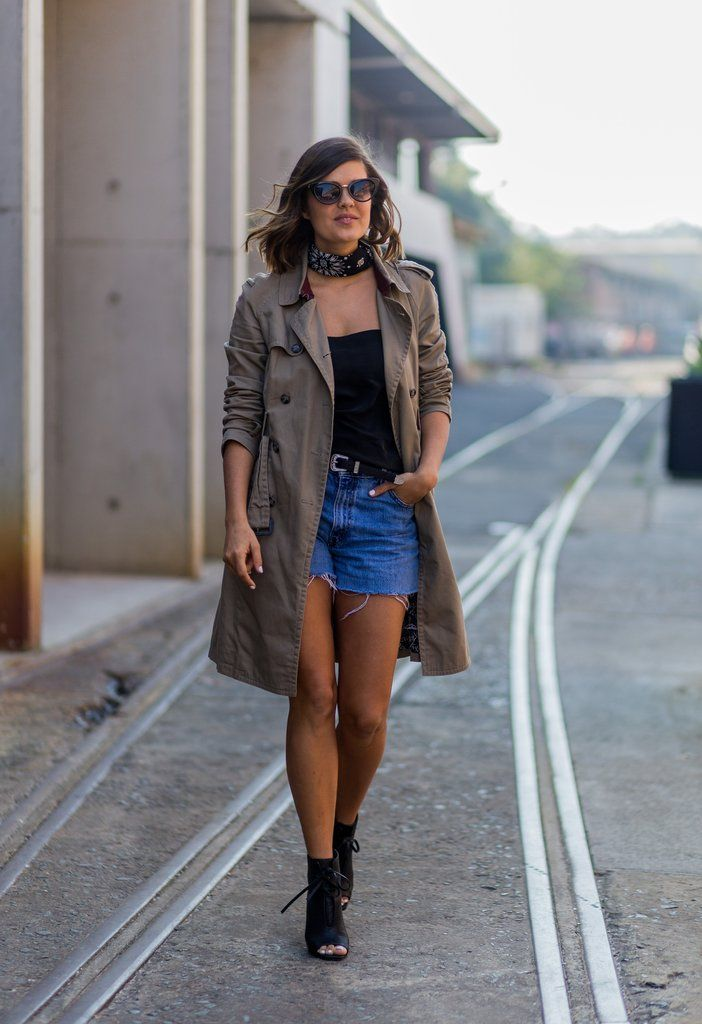 Your Shredded Cutoffs Can Work in a Sophisticated Summertime Outfit Too
