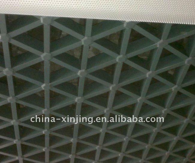 decoratieve metalen rooster plafond/home decoratieve aluminium rooster plafond