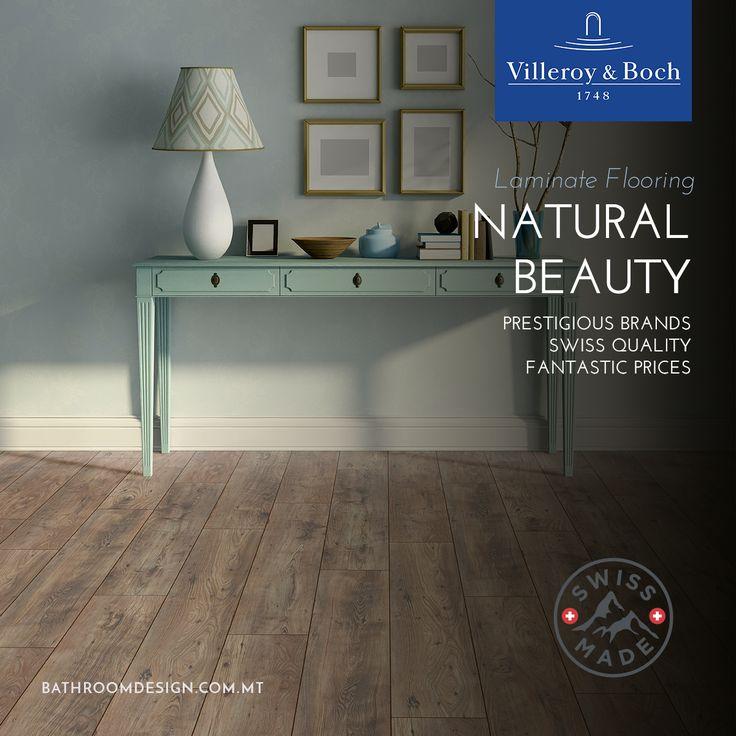 We love laminate flooring. Now in stock!  http://bathroomdesign.com.mt