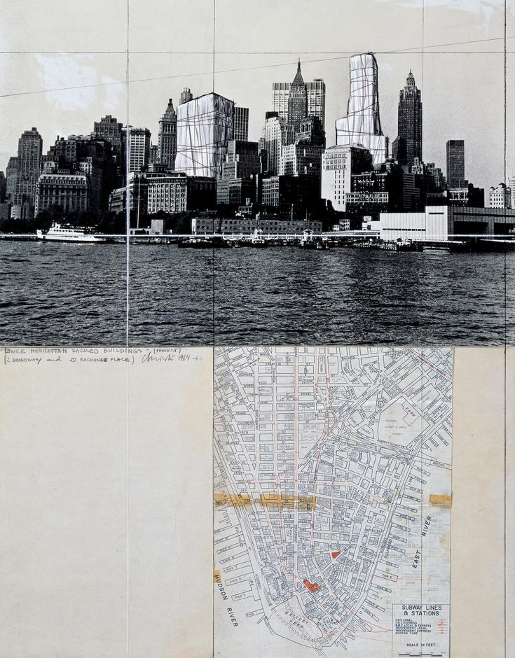 Christo and Jeanne-Claude | Projects | Wrapped Buildings, New York City