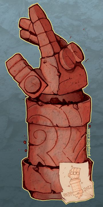 hellboy right hand of doom   Right Hand Of Doom The right hand of doom. by