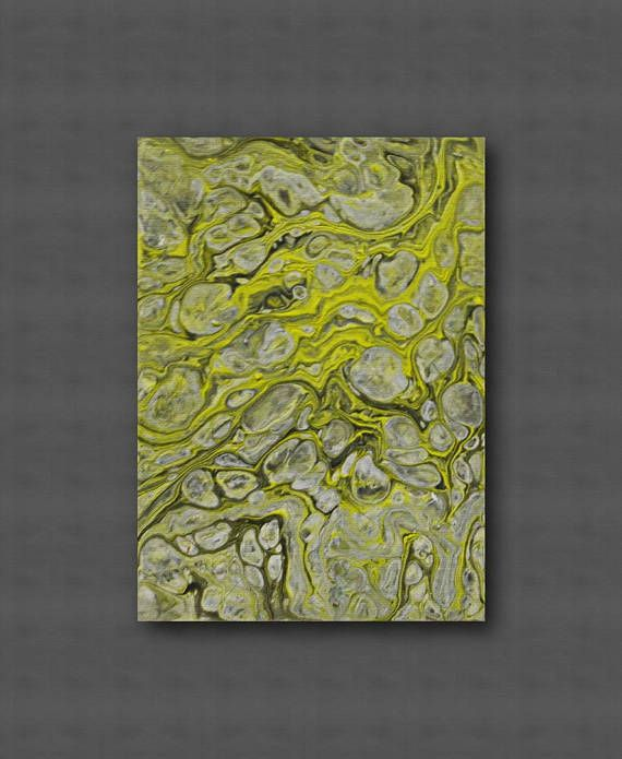 Acrylic pour art Acrylic Pour Painting Small painting