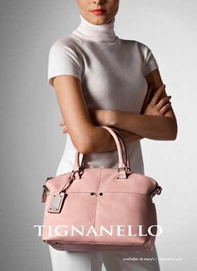 Tignanello sophisticate leather convertible satchel