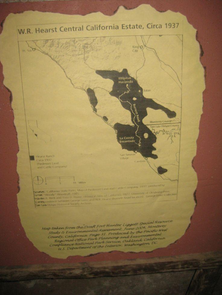 WR Hearst Central California Estate Circa 1937
