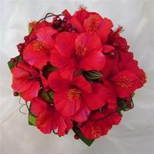Red Hibiscus Flower bouquet