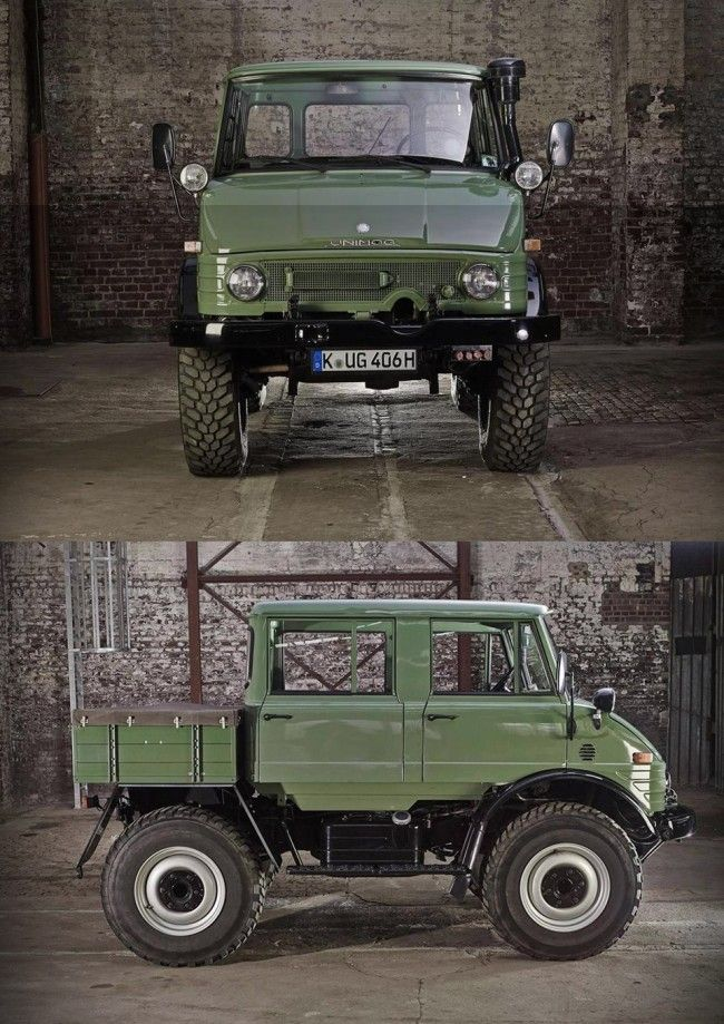 Mercedes Benz unimog 406 doppelkabine large 650x919 1976 Mercedes Benz Unimog 406 Doppelkabine 4x4....some fine day it will be mine
