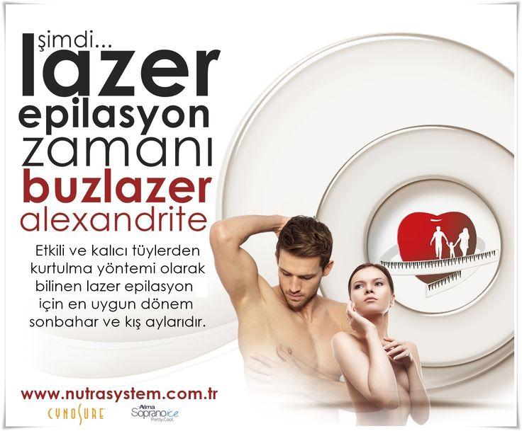 ŞİMDİ LAZER EPİLASYON ZAMANI ! Bay Bayan Lazer Epilasyon Alexandrite ve BuzLazer Yöntemleri  http://www.nutrasystem.com.tr/izmir-buz-lazer-epilasyon-izmir-alexandrite-lazer-epilasyon-izmir-lazer-epilasyon-erkek-lazer-epilasyon/