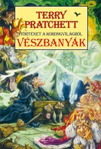Borító: Vészbanyák (Könyv) - Terry Pratchett