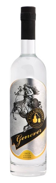 Genever Gin by Bass and Flinders Distillery. Designed by Acme etal.