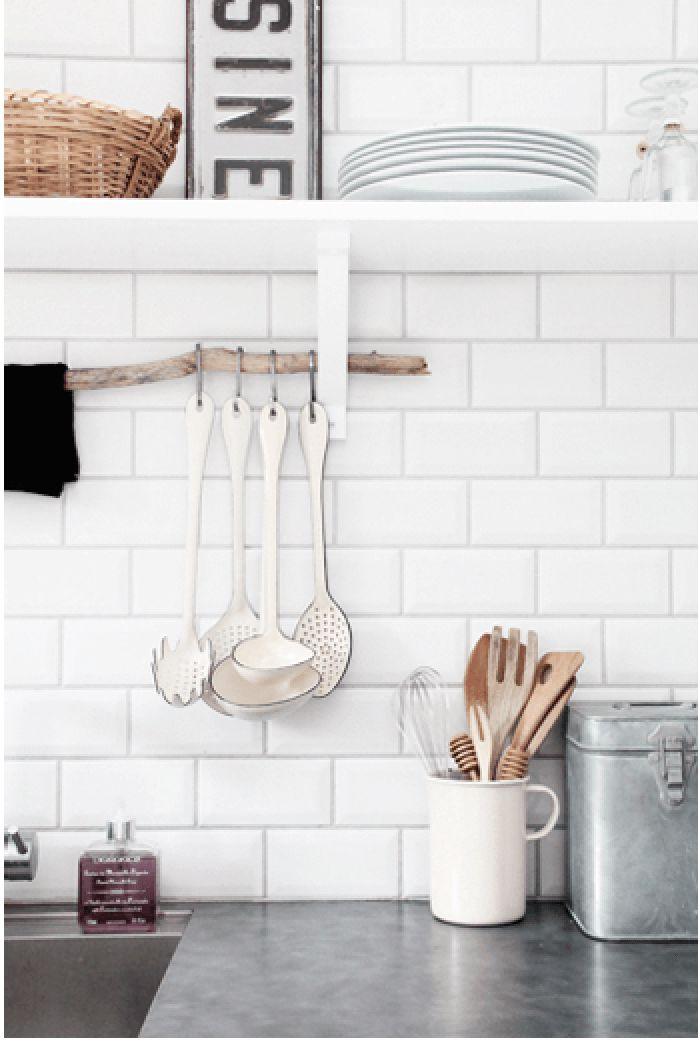17 meilleures id es propos de organisation d 39 ustensiles de cuisine sur - Bien organiser sa cuisine ...